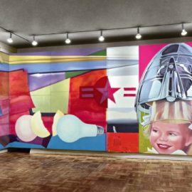 L'immersion selon Rosenquist au Museum Ludwig de Cologne