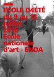 APPEL A CANDIDATURES  – Ecole nationale d'art (ENDA) – Ecole d'été