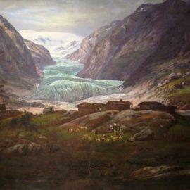 Le peintre norvégien Johan Christian Dahl en vedette romantique à Bergen