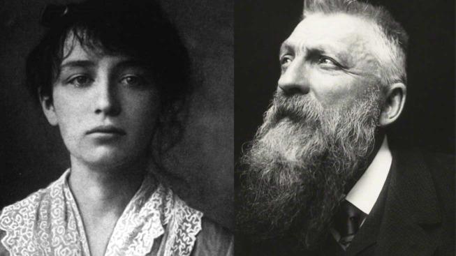 Camille Claudel (1884) et Auguste Rodin par George Charles Beresford (1902)