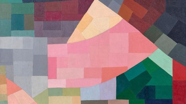Otto Freundlich, Composition (détail), 1931, huile sur toile, 146 x 114 cm, Musée de Pontoise, Donation Freundlich © Musée de Pontoise