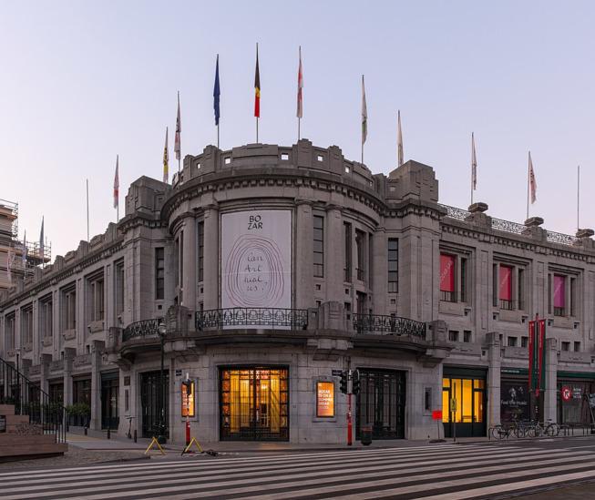Le Palais des Beaux-Arts de Bruxelles a été victime d'un feu de toiture le 18 janvier 2021 ©Wikimedia Commons/Trougnouf (Benoit Brummer)